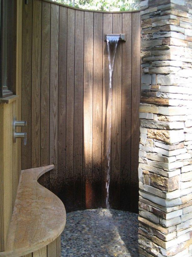 mooie buiten - douche