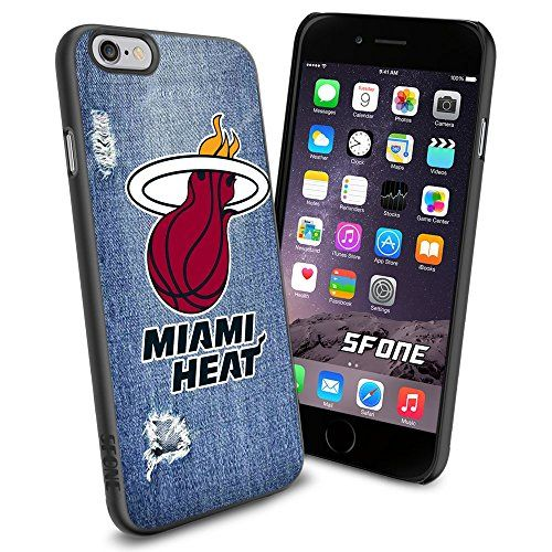"""Miami Heat Logo Jeans iPhone 6 4.7"""" Case Cover Protector"""