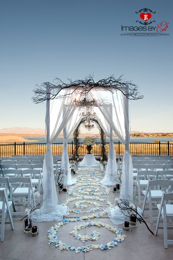 73 best images about wedding arch on pinterest for Las vegas sunset weddings