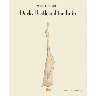 In a strangely heart-warming story, a duck strikes up an unlikely friendship with Death. Death, Duck and the Tulip will intrigue, haunt a...