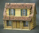 NEW 1/2 Inch Scale Adirondack Log Cabin Dollhouse Kit