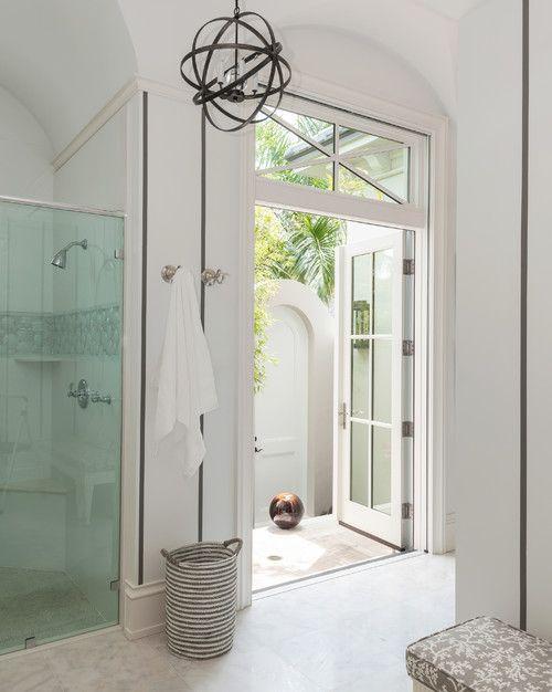 Grallcrafters' Metropolis Series™ framed shower doors
