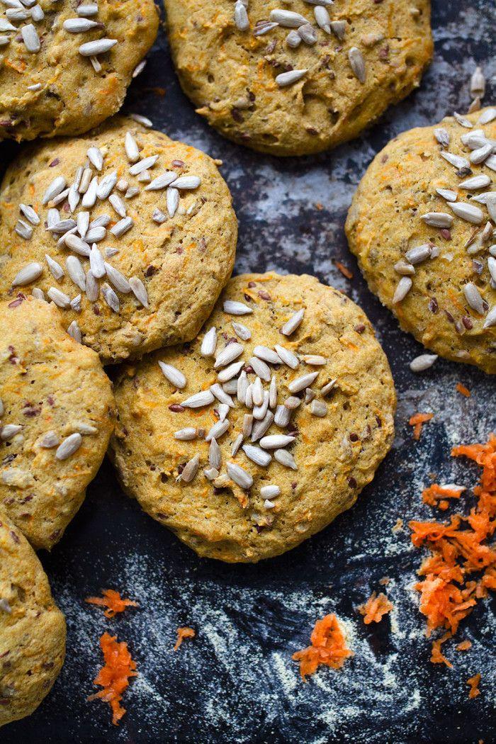 Glutenfria Morotsfrallor / Gluten free Carrot Bread - Evelinas Ekologiska