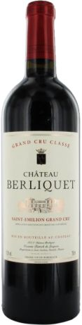 Château Berliquet Grand Cru Classé de Saint-Emilion rouge 2012 - Saint-Émilion Grand Cru - 15,5/20 : Un vin avec une honnête matière, demi-corps, extraction toute en douceur, un joli frui En savoir plus : http://avis-vin.lefigaro.fr/vins-champagne/bordeaux/rive-droite/saint-emilion-grand-cru/d18736-chateau-berliquet/v18737-chateau-berliquet/vin-rouge/2012#ixzz398zAQQtc
