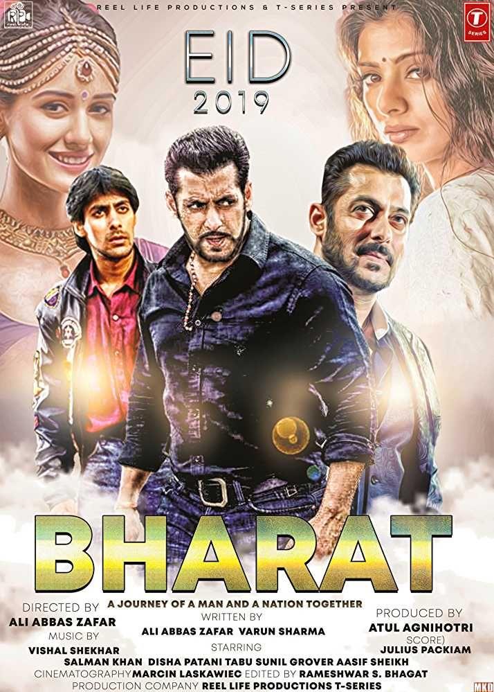 Bharat 2019 BluRay 480p & 720p Download | Hindi bollywood movies, Bollywood  movies, Movie trailers