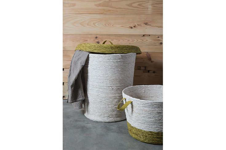 Jinjas baskets handmade with textile waste - Collection 2016.  #ecodesign #jinja #jinjaritual #recycled #textilewaste #worldecology #homedecor #sustainable #handmade #homewares #baskets