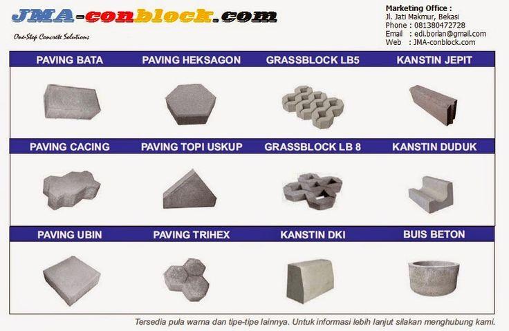 Jati Makmur Agung Conblock: Product