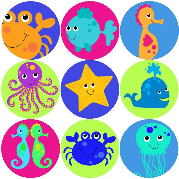 <p>These colourful Sea Life Creatures reward stickers are perfect to make a big impression on young learners and can be used with any Reward System.</p>
