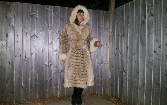 Check out this item in my Etsy shop https://www.etsy.com/listing/547247590/vintage-1980s-long-coyote-fur-coat-with