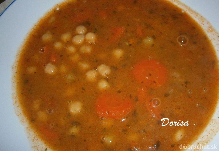 Cícerová polievka hustá