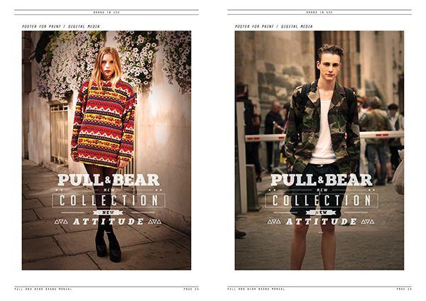 Pull&Bear Brand Manual on Behance