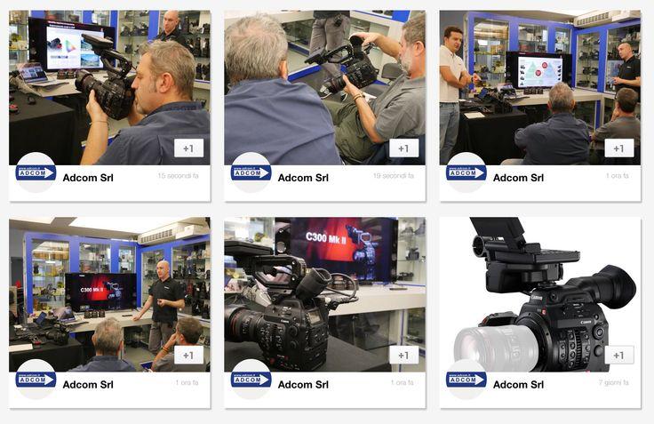 Grazie a tutti per aver partecipato alla presentazione della nuova Canon Eos C300 Mark II