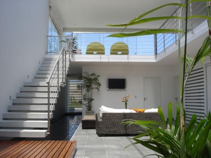 Diseno de casa playa bora bora peru por bucelli for Interior de casas modernas