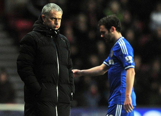 End of the Mata: Mourinho says Spanish playmaker can leave Chelsea