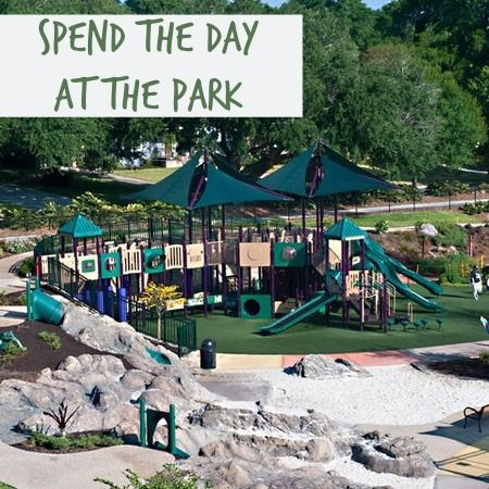 Or go swimming at Lithia Springs Park or explore 596 acres of God's creation at Upper Tampa Bay Regional Park. And of course, Paul Sanders Park is our all time family favorite place to be. The shaded wonderland is full of amazing climbing trees for all ages.