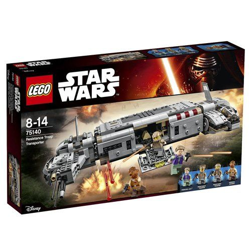 LEGO Star Wars 75140 - Resistance Troop Transport: Amazon.it: Giochi e giocattoli