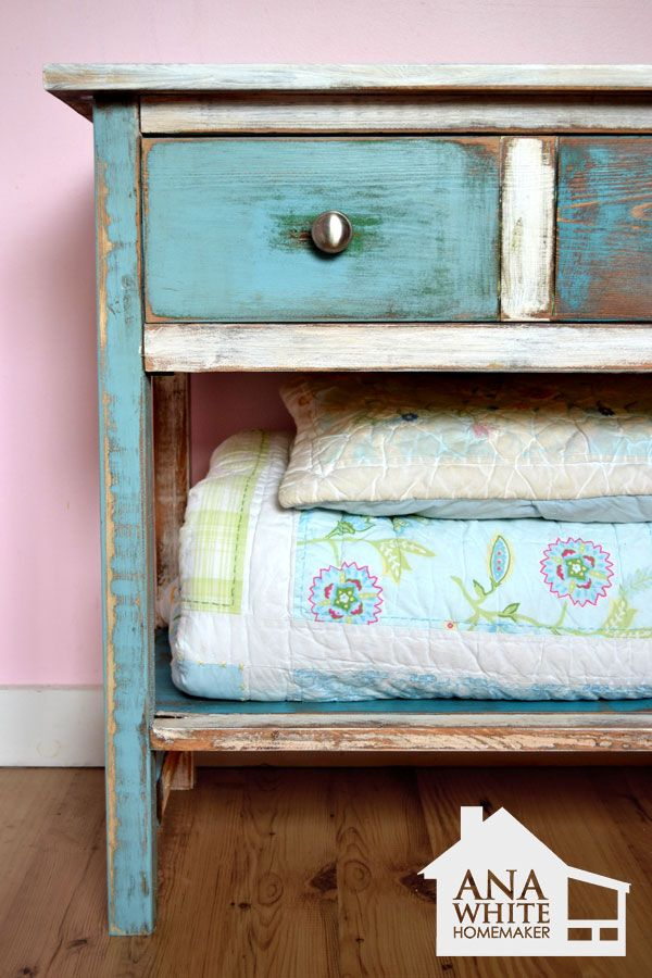 DIY patchwork furniture