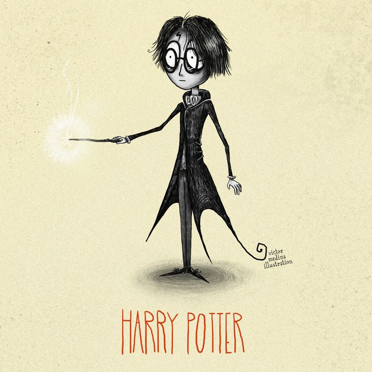 Harry Potter Characters - Victor Medina Illustration