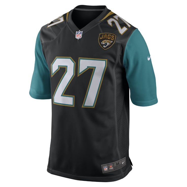Nike NFL Jacksonville Jaguars (Leonard Fournette) Men's Football Game Jersey Size Medium (Black)