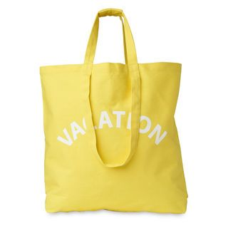 Vacation Canvas Bag, in Yellow on Whistles