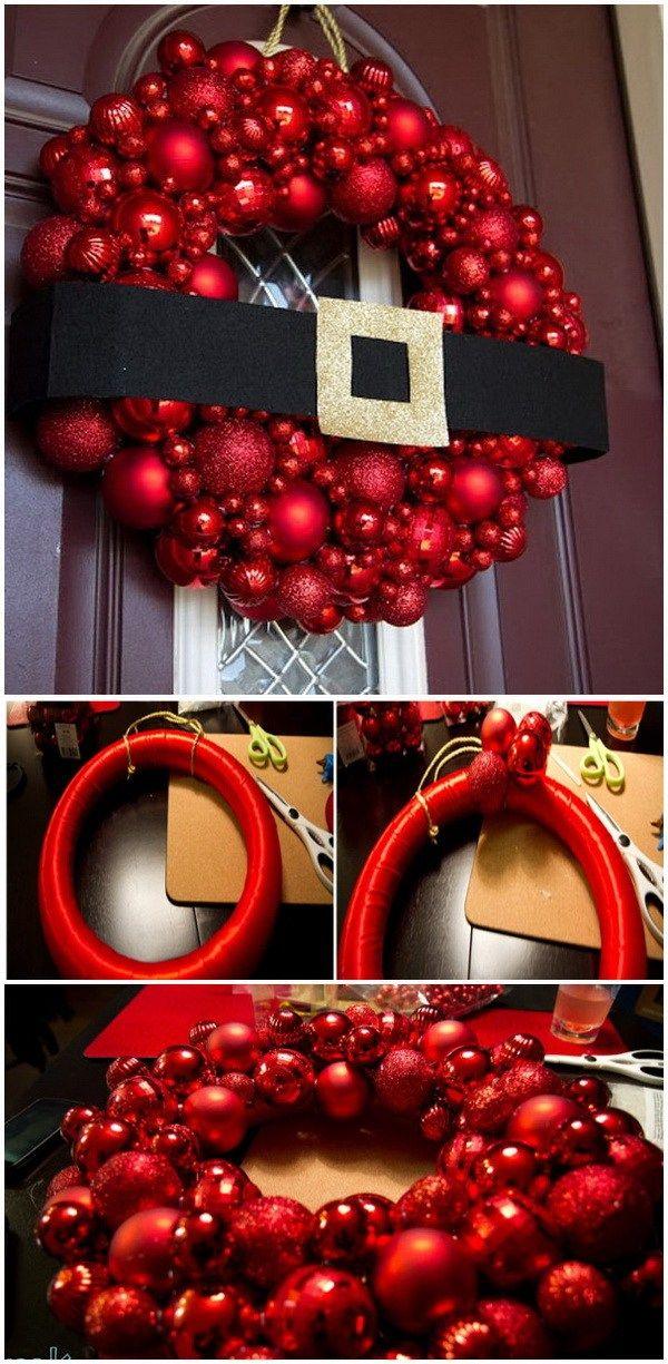 Diy Christmas Tree Wreath Part - 41: 20+ Festive DIY Christmas Wreaths With Lots Of Tutorials