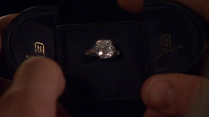 chuck's engagement rin...