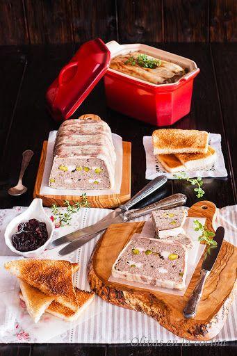 Terrina o Paté de cerdo y ternera con hígado - Julia Child