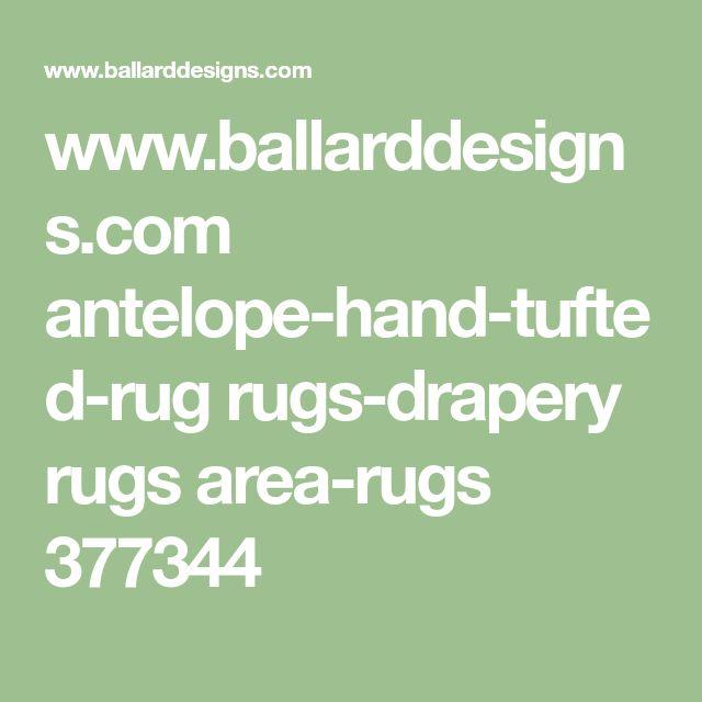 www.ballarddesigns.com antelope-hand-tufted-rug rugs-drapery rugs area-rugs 377344
