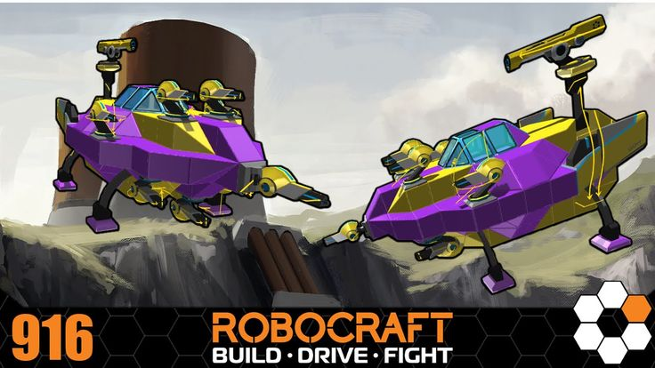 Robocraft 'Blobberts' Build and Gameplay