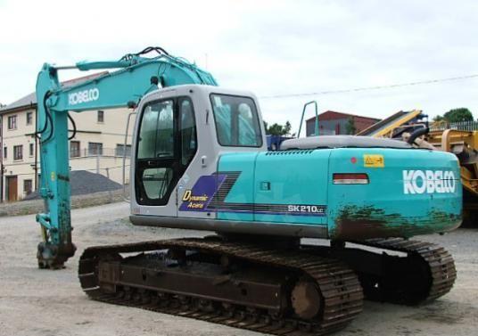 Kobelco SK210-6, SK210LC-6, SK210NLC-6 MARK-IV CRAWLER EXCAVATOR