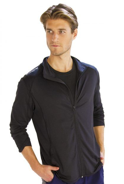 Stunning Solid Black #Men's #Jacket