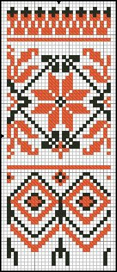 auseklis and ing knit or tapestry crochet pattern