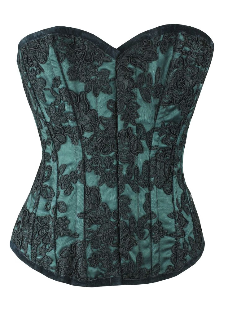 Satin with Tulip Lace | One Off | Limited Edition - Sale Corsets - Satin with Tulip