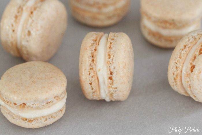 Frosted Flakes Macarons (Picky Palate)