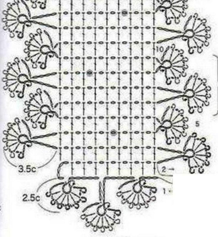 Mejores 28 imágenes de cachecol crochê en Pinterest | Bufandas ...