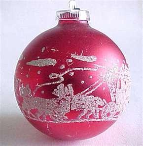 vintage ornament -memories