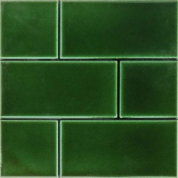 6 Inch Square Brick Effect Tile Fireplace Tiles In 2020