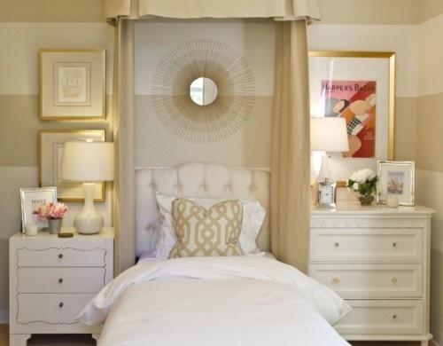 ZsaZsa Bellagio: A Whole lot of Pretty Bedroom - tone on tone