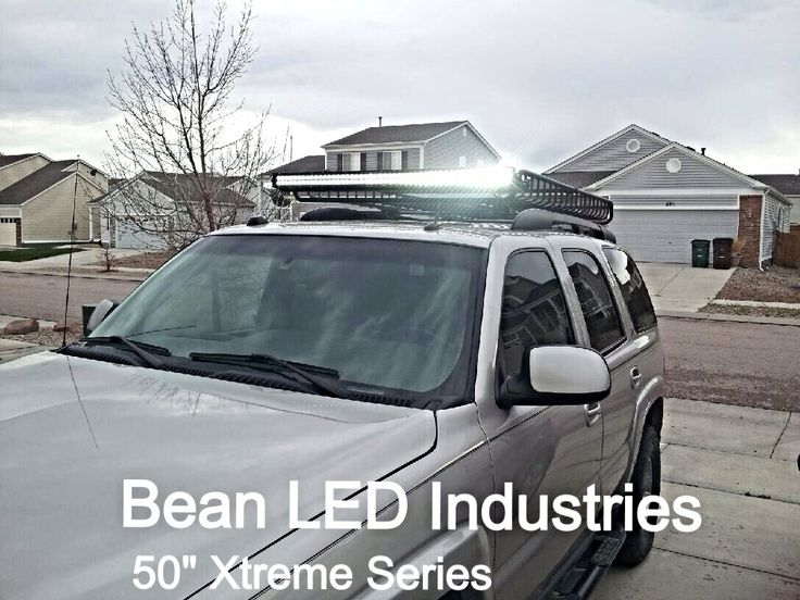 Best Lifted Suv S With Bean Led Light Bars Images On Pinterest