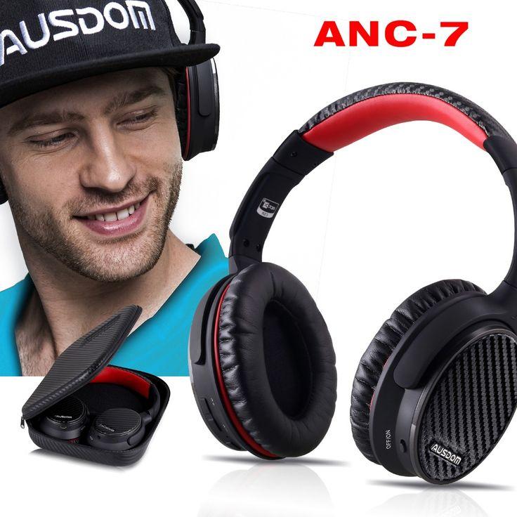 Ausdom ANC7 <b>Active Noise Cancelling Wireless</b> Headphones ...