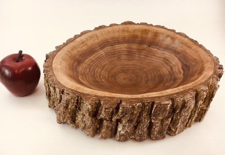 Excited To Share This Item From My Etsy Shop Rustic Log Bowl
