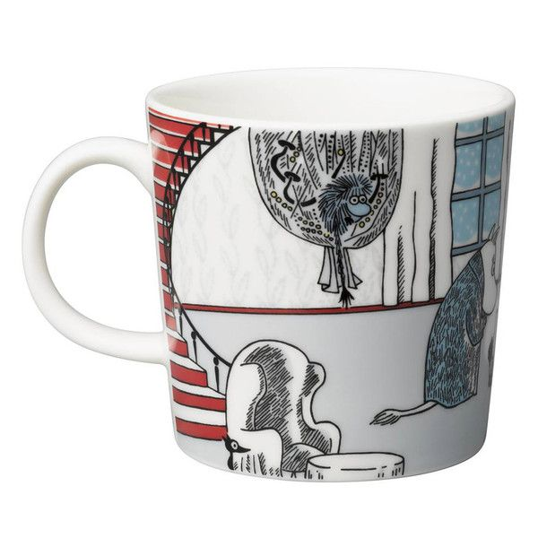 I am thinking of getting my first Moomin mug... The Ancestor is one of my favourite characters :)
