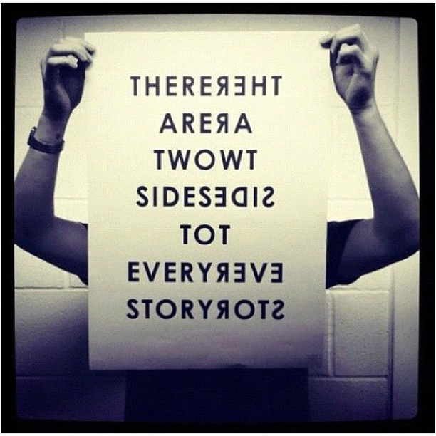 Two Sides To The Story Quotes