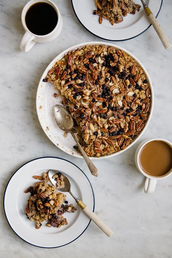 A CUP OF JO: Baked Blueberry Oatmeal