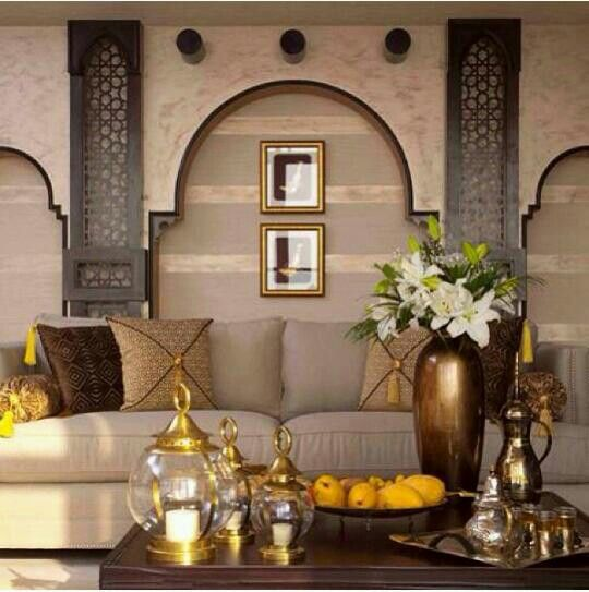 68 best arabian theme images on pinterest for Arabic interiors decoration