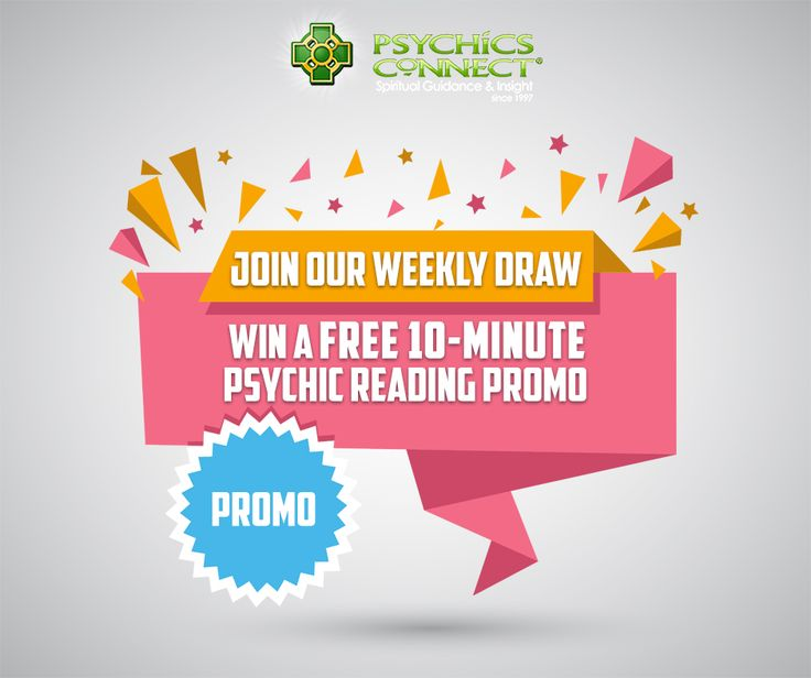WIN A FREE 10-MINUTE PSYCHIC READING!   Psychics Connect is giving away a free reading to a lucky winner this week.    Simply register and answer the question below.    https://qm314.infusionsoft.com/app/page/psychicsconnectfbdraw    Please make sure to verify your email to qualify for this promotion.     The winner will be announced in our social media pages and will be notified through private email.