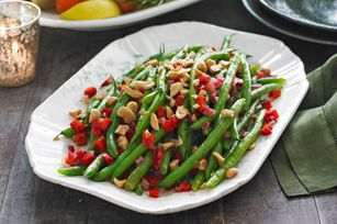 Sauteed Green Beans & Cashews recipe