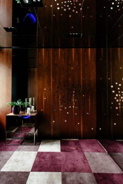 Dye Lab tiles in restaurant in Warsaw