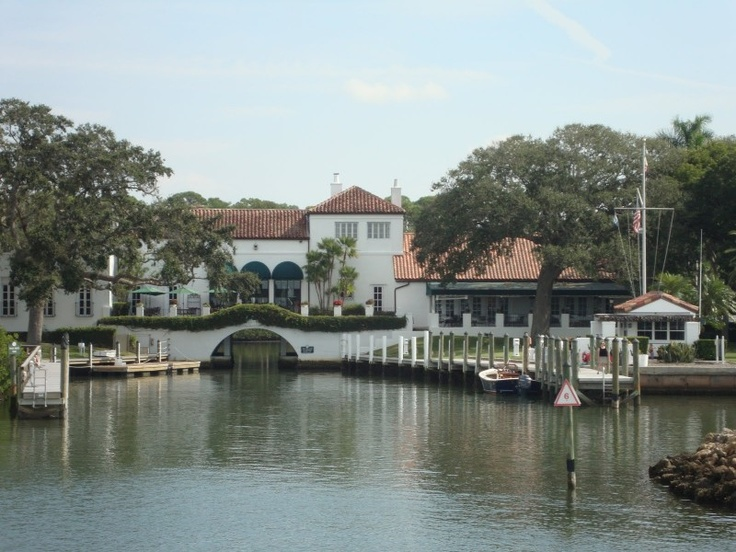 the venue. the field club of sarasota. a 1920s spanish-influence residence turned private marina club built by the field family (of marshall field in chicago)