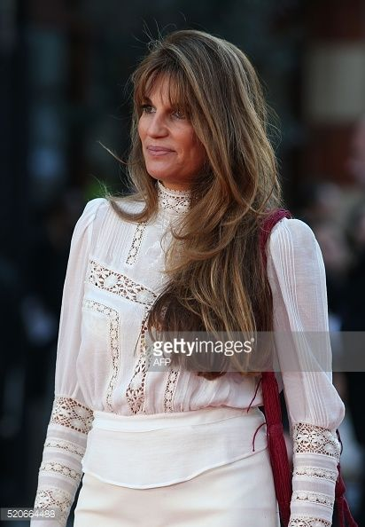 jemima goldsmith | jemima goldsmith poses on arrival for the premiere of florence foster ...